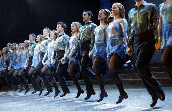Riverdance Troupe on Basic Dance Steps