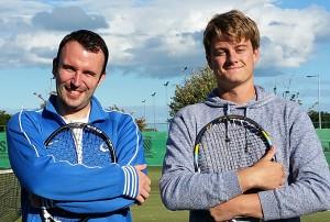 Men's Club Championship Finalists - Robert Stone & Odhran O'Sullivan Hamill