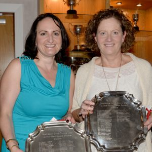Ladies Club Championship Winners - Ailish Byrne & Deirdre Keyes