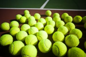 photo of tennis-balls