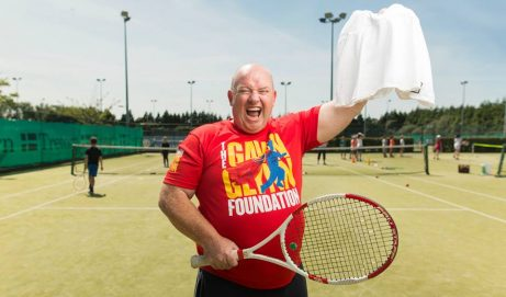 Bid for Chris's famous Wimbledon skirt