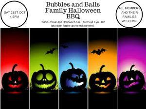 Bubbles & Balls Family Halloween BBQ