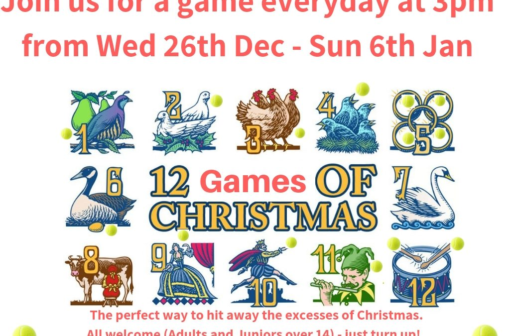 The 12 Games of Christmas