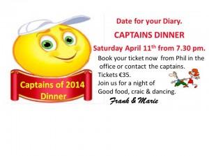 captains dinner poster 2014