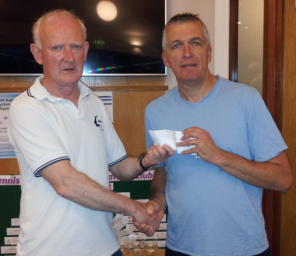 Winner 4th July club draw