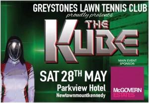 Greystones LTC the kube poster