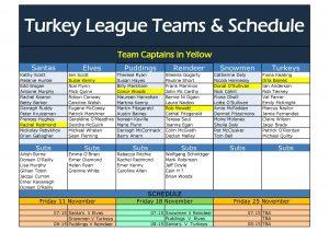 Turkey Teams 2016