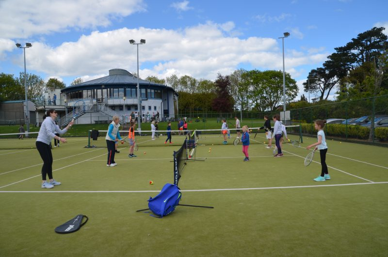 Great response to Tennis Club