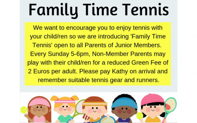 Family Time Tennis