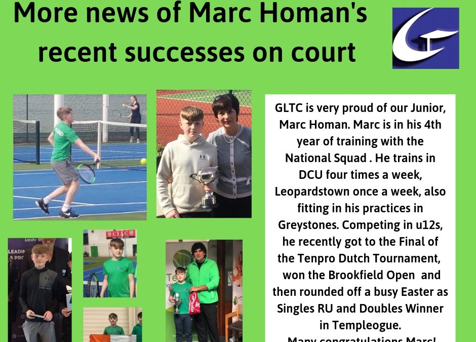 Well done Marc Homan!