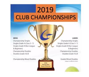 Senior club championships- enter by 1 Sept