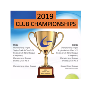 Senior club championships- enter by 1 Sept