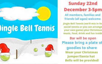 Jingle Bell Tennis- festive fun for all!