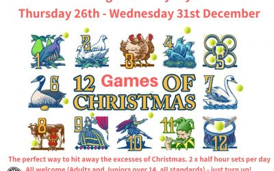 The 12 Games of Christmas!