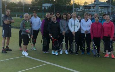 Ladies improvers tennis coaching – SOLD OUT