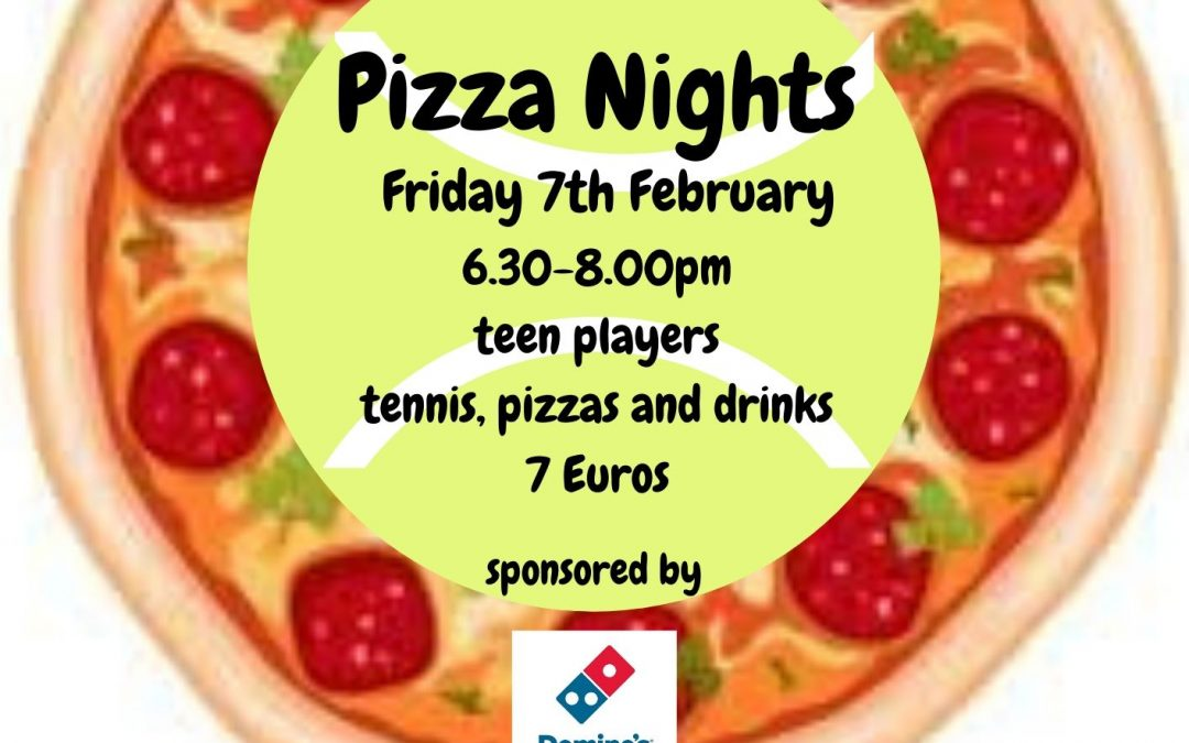Next Pizza Night!