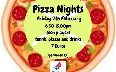 Next Pizza Night!