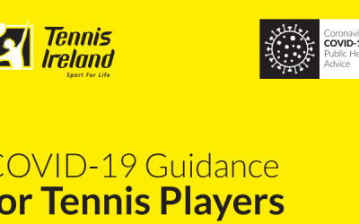 Guidelines for Playing Tennis during Phase 1