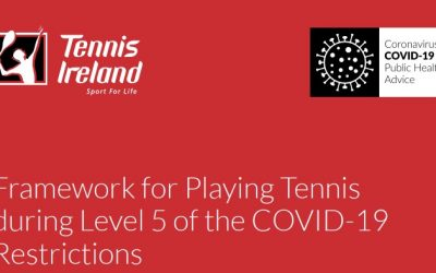 Level 5 – 28 Dec – Singles & Household Doubles only