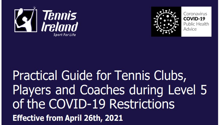 26 April – Singles, Household doubles and junior coaching